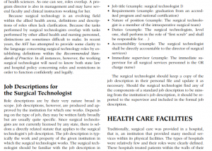 Surgical Technology for the Surgical Technologist by the Association of Surgical Technologists PDF Download