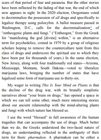 This Is Your Mind on Plants by Michael Pollan PDF Free Download