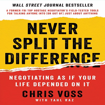 Never Split the Difference by Chris Voss PDF Book Download